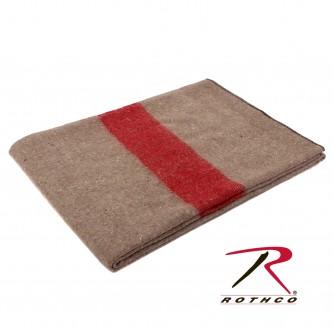 Rothco 10244 Khaki Military Italian Army Type European Surplus Style Wool Blanke