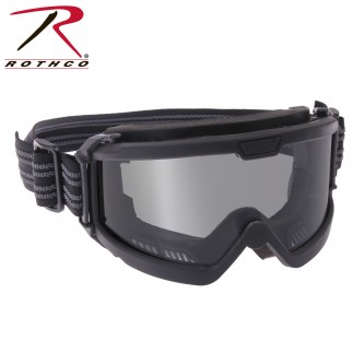 Black Sportec Tactical Goggles Military Safety Glasses Rothco 11379