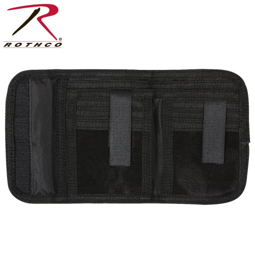 Rothco 11629 Black High Quality Deluxe Tri-Fold ID Wallet