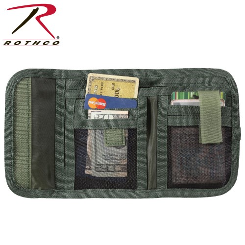 Rothco 11630 Woodland Camouflage High Quality Deluxe Tri-Fold ID Wallet
