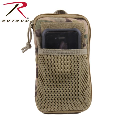 Rothco 11661 Multicam Military Tactical Zipper Wallet Personal Effects Pouch