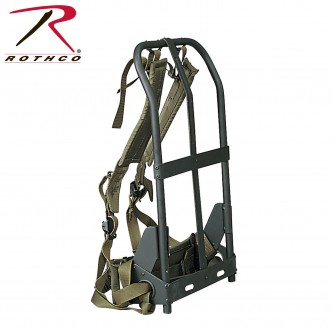 2255 Rothco Military Alice Pack Frame With Attachments