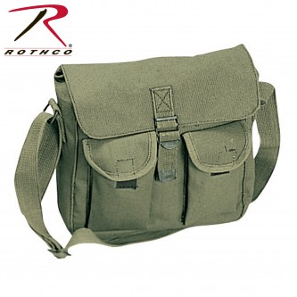 ROTHCO 2277 Ammo Shoulder Bag Tote Canvas Heavy Weight Military Rothco[Olive Drab]