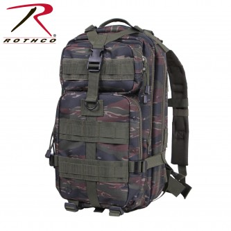 2418 Rothco Military Style Medium Transport Level III MOLLE Assault Backpack[Tiger Stripe Camo]