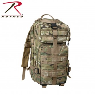 2940 Rothco Military Style Medium Transport Level III MOLLE Assault Backpack[MultiCam]