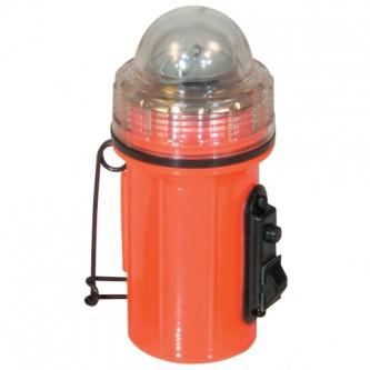 Gi Orange Strobe Light W/Pin And Magnet