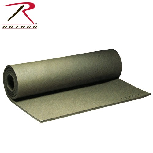 4088 Rothco G.I. Foam Sleeping Pad - Olive Drab - Made in USA
