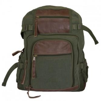 Retro Londoner Commuter Daypack - Olive Drab