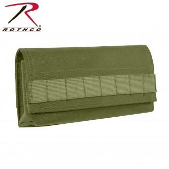 51116 Rothco Horizontal 18 Round Shotgun Airsoft Shell Ammo Pouch[Olive Drab]