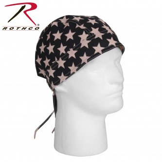 5192 Rothco Black POW MIA Military Headwrap Do-Rag