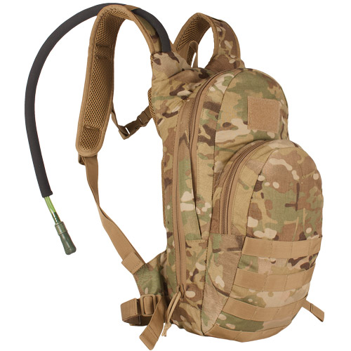 Compact Modular Hydration Backpack - Multicam