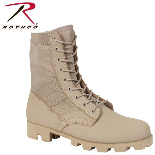 5909-9 Desert Tan Panama Sole Combat Boots Military 8