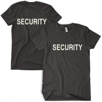 Security T-Shirt Black - L