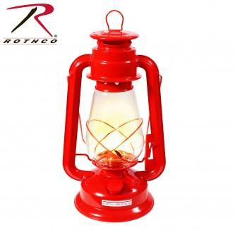 740 Rothco Red Kerosene Lantern 12
