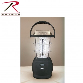 Rothco 80006 36 LED Solar / Handcrank Lantern