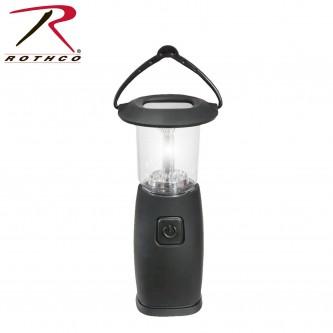 Rothco 80007 Solar & Hand crank 6 LED Lantern