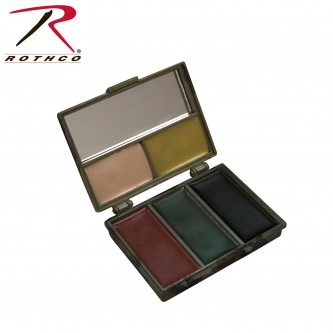 8205 Rothco Five-color Bark Camouflage Face Paint Compact