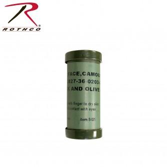 8301 Nato Camo Face Paint Stick - Woodland Camo