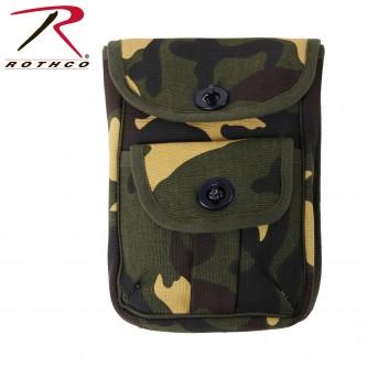 Rothco Canvas 2-Pocket Ammo Pouch - Camo