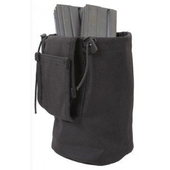 51007-BLK MOLLE Compatible Roll Up Utility Tactical Dump Pouch Rothco. Good for clips, shells, etc