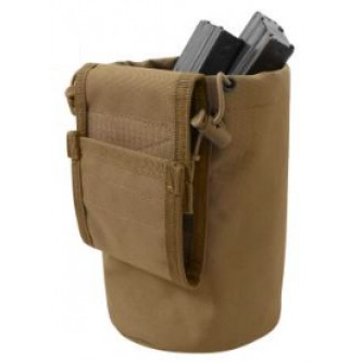51007-Coy MOLLE Compatible Roll Up Utility Tactical Dump Pouch Rothco. Good for clips, shells, etc