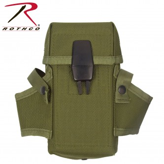 9947 Rothco GI Style Military M-16 Clip Magazine Pouch[Olive Drab]